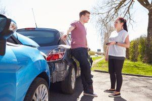 Geraten Berufspendler auf dem Weg in die Firma in einen Unfall, haben sie besondere Ansprüche.