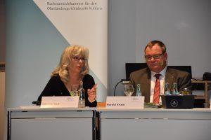 Die Podiumsdiskussion der Rechtsanwaltskammer Koblenz befasste sich mit Gewalt- und Sexualstraftaten.