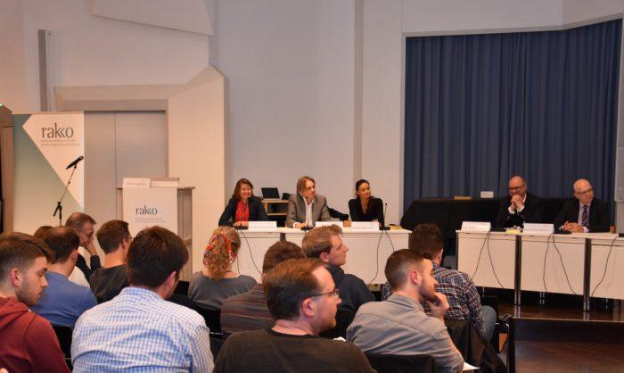 Über Algorithmen und Werte wurde am 7.11.2019 in Mainz diskutiert.